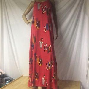 NWT Red Maxi Dress